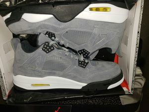 Jordan 4 retro new in box size 12 firm price serious buyers only no trades for Sale in Colton, CA