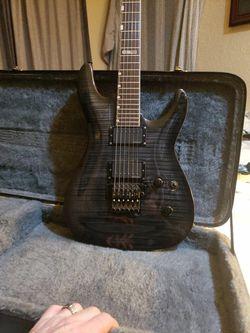 ESP LTD sunburst black and grey for Sale in Snoqualmie Pass,  WA