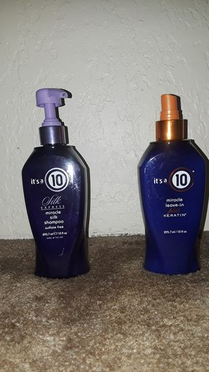 It's a 10 hair keratin and silk shampoo for Sale in Everett, WA