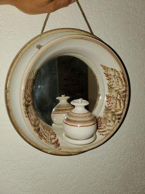 Clay mirror decoration for Sale in Tacoma, WA