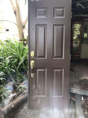 Exterior metal door 30x80. $50 for Sale in Miami, FL
