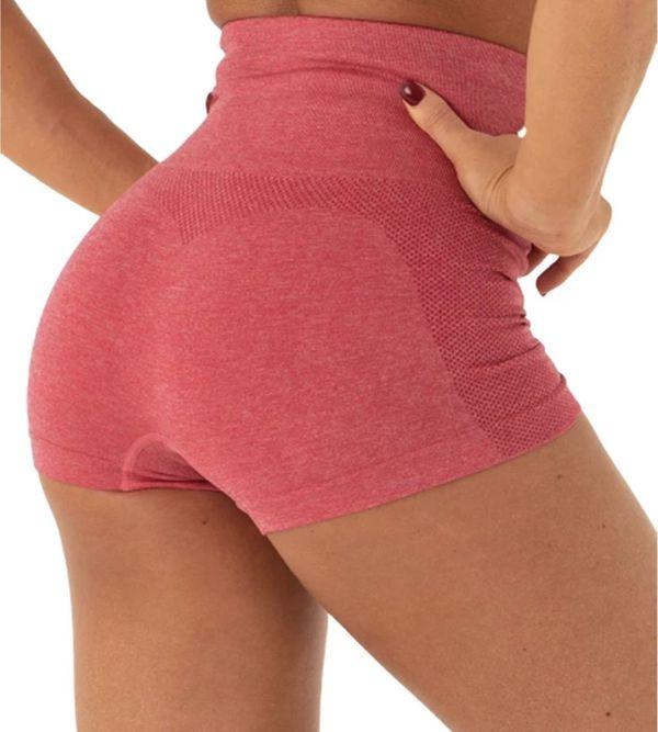 Gym yoga butt lift high waisted shorts