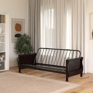 DHP Wood Arm Futon w/Espresso Wood Finish, Futon Frame Only New in Box for Sale in Las Vegas, NV