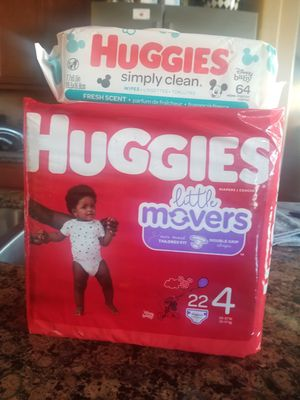 Huggies Size 4 Bundle for Sale in Mansfield, TX