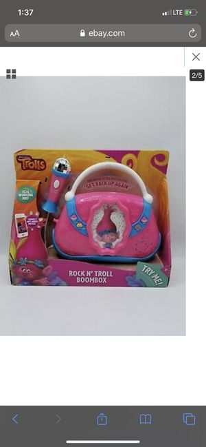 Trolls boom box for Sale in Wilmington, DE