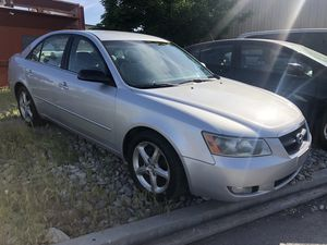 2007 HYUNDAI SONATA CLEAN TITLE RUNS AND DRIVES GREAT for Sale in Salt Lake City, UT