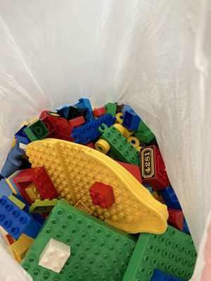 Bag full of LEGO's for Sale in Plano, TX