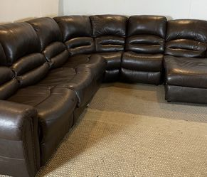 Leather Sectional Couch FREE DELIVERY for Sale in West Chester,  PA