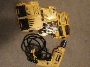 DeWalt corded drill with accessories kit for Sale in Valdosta, GA