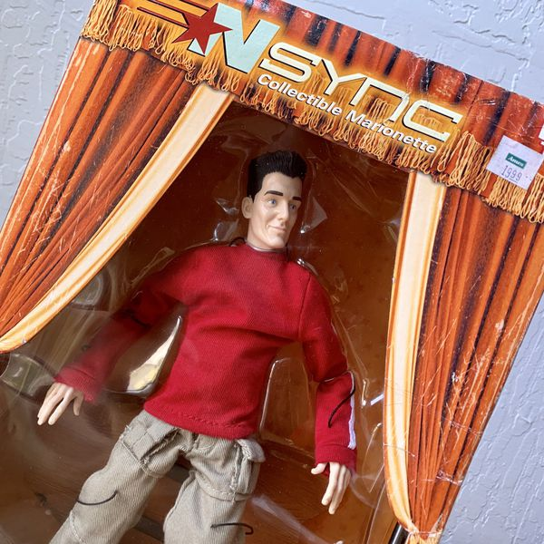 "Living Toyz Nsync JC Chasez 10"" Collectable Marionette Figure Doll Toy"