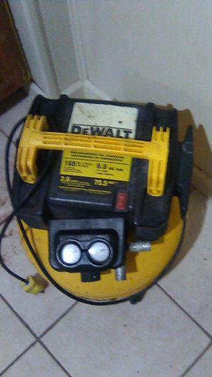 DeWalt compressor for Sale in Trenton, NJ