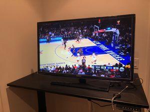 37 in Samsung TV (still in wraps) + remote + google chromecast (3rd gen) for Sale in San Francisco, CA