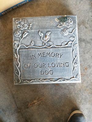 Dog headstone for Sale in Olathe, KS