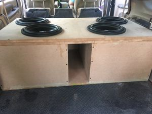 4 soundqubed 12 subwoofers for Sale in Lugoff, SC