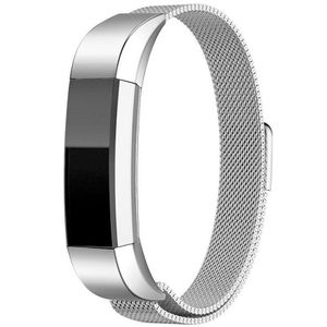 Magnetic Loop Stainless Steel Wrist Band Strap for Fitbit Alta HR /Alta Silver(steelband-silver-USA) for Sale in Riverside, CA