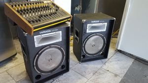 Yamaha professional speaker system 15 inch for Sale in Airmont, NY