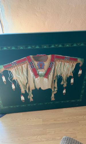 Navajo leather pictures for Sale in Albuquerque, NM