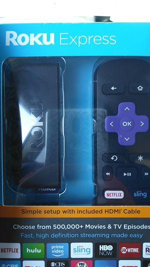 NEW Roku express never opened for Sale in Vallejo, CA