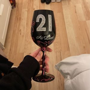 21 Wine Glass for Sale in Horsham, PA