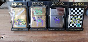 Camel smokin Joe Camel collectible zippo lighter collection for Sale in Lakewood, CA