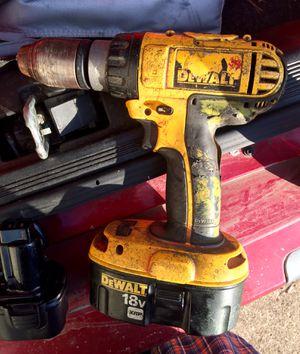 18Volt Dewalt Cordless Power Drill for Sale in Kalamazoo, MI