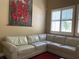 Off white sectional couch for Sale in Roseville, CA