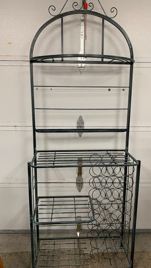 Wine bakers rack for Sale in San Rafael, CA