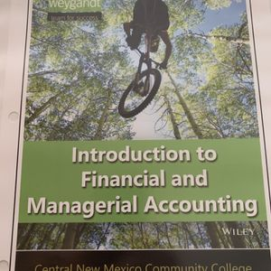 Introduction to Managerial Accounting for Sale in Albuquerque, NM