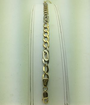 Yellow and White Gold Bracelet 10k for Sale in Chula Vista, CA