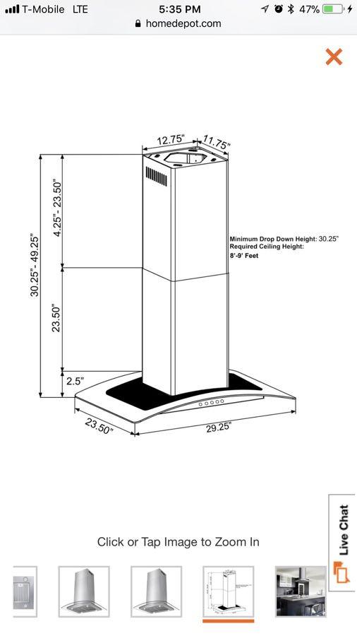 Convertible kitchen island mount range