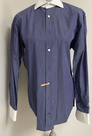 Van Laack Royal Men's Dress Shirt 38 15 Small 100% Cotton for Sale in Queens, NY
