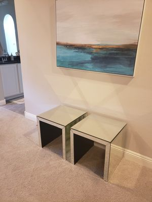 Glass/Mirror side tables for Sale in Gilbert, AZ