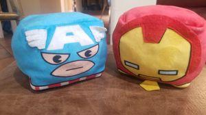 MARVEL Iron Man & Captain America Combo Cubed Plush for Sale in Covina, CA