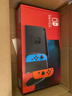 Brand new Nintendo Switch Neon Blue/ Red Joycons / 32 GB for Sale in Boston, MA
