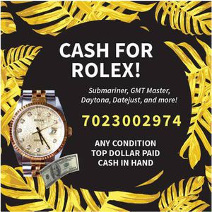 ROLEX WATCHES FOR CASH for Sale in Las Vegas, NV