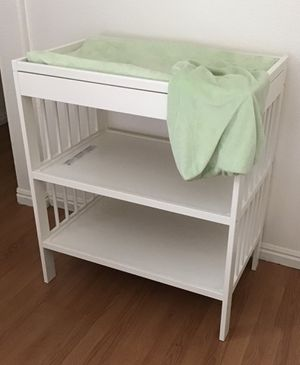 Changing table with pad and covers for Sale in Henderson, NV