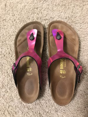 Pink Birkenstock's size 40 for Sale in Kent, WA
