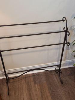 Metal Blanket Rack for Sale in Durham,  NC