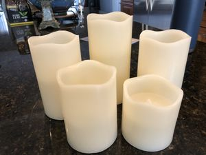5 Flameless Candles for Sale in Germantown, MD