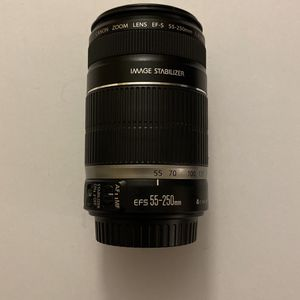 Canon EF-S 55-250mm f/4-5.6 IS Lens for Sale in Hialeah, FL