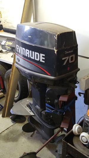 Evinrude 70 Outboard for Sale in Wasilla, AK