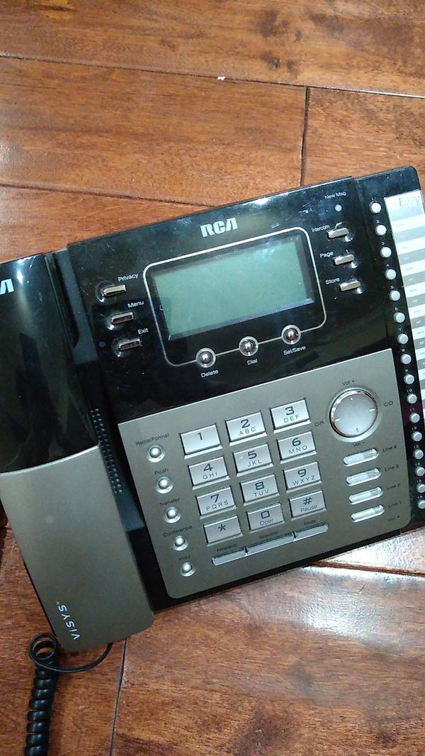 RCA Visys 25424RE1 4-line business phone system - Excellent Condition