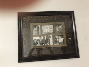 Dark cherry family photo frame for Sale in Waldorf, MD
