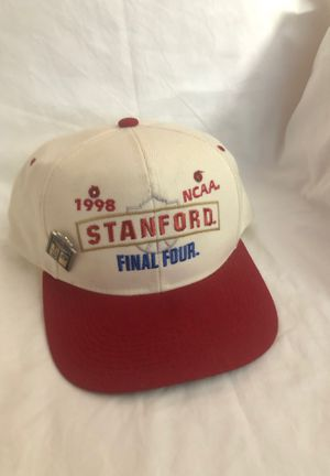 1998 NCAA Stanford Final Four SnapBack with pin for Sale in Santa Clara, CA