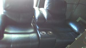 Black manual recliner 1 yr old $200.00 for Sale in Buffalo, NY