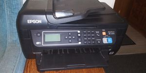 Epson color printer scanner fax excellent condition works perfectly for Sale in Tampa, FL