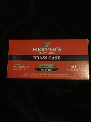 Herters select grade brass case 10mm auto 180 grain for Sale in Standish, ME