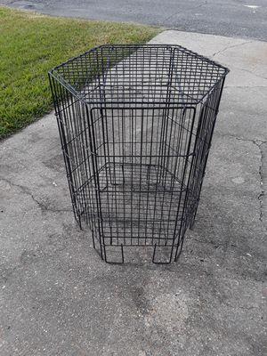 Large wire octagon inside outside storage basket for Sale in Westwego, LA