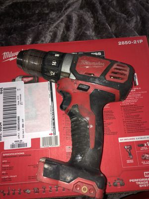 Milwaukee drill / impact driver / and battery for Sale in Oceanside, CA