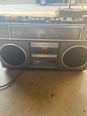Vintage boombox Sony for Sale in Chino, CA